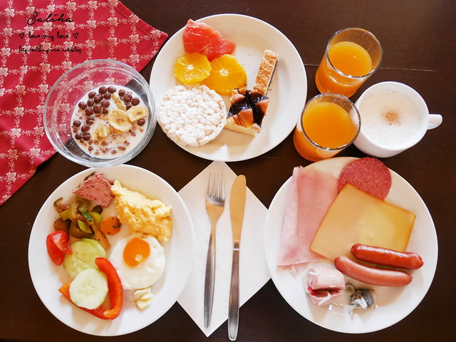 Hotel Ruze薔薇飯店Charming Hotel in cesky Krumlov中世紀扮裝晚餐-自助式早餐 (26)