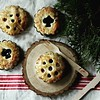Happy #thanksgiving ! #minitarts in flavors of #blueberry and #apple cinnamon                            #handmade #rustic #chicagogram #chicagofood #food52 #autumn #babushkabakery