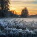 winter sunset by Hans Zitzler