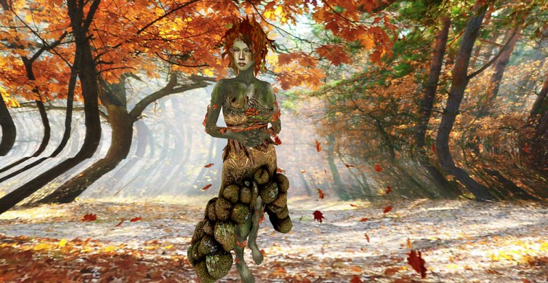 Autumn Dryad