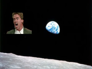 arnie in space
