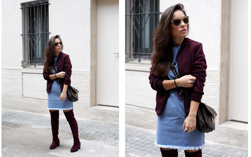 05_how_to_wear_bomber_burgundy_outfit_theguestgirl_streetstyle_barcelona