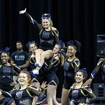 BHS 5A Cheer @ State (Side View) 11-19-16 cpr