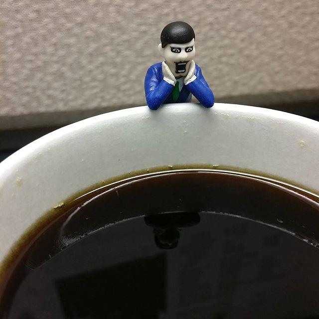 Punk Drunker coffee buddy.