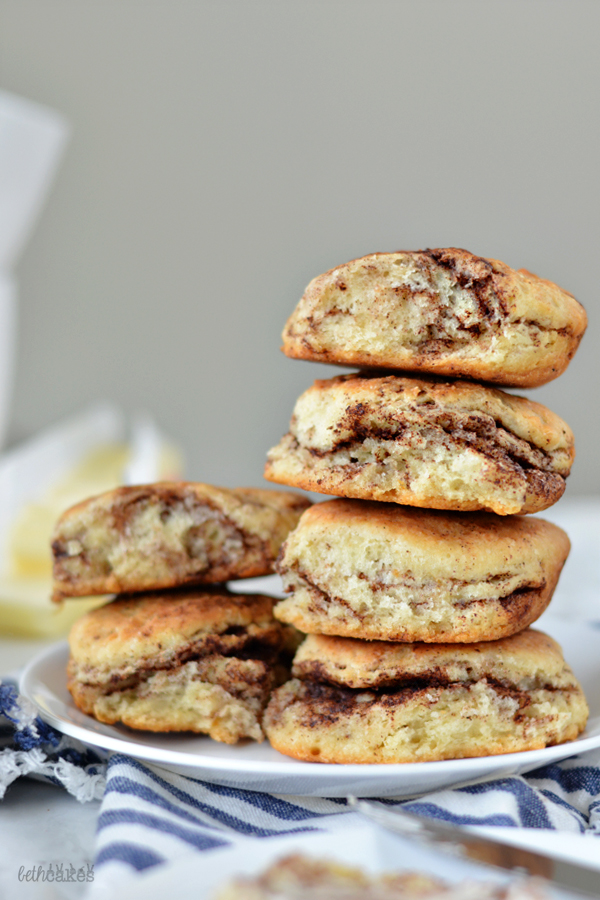 Homemade Cinnamon Swirl Biscuits - bethcakes.com