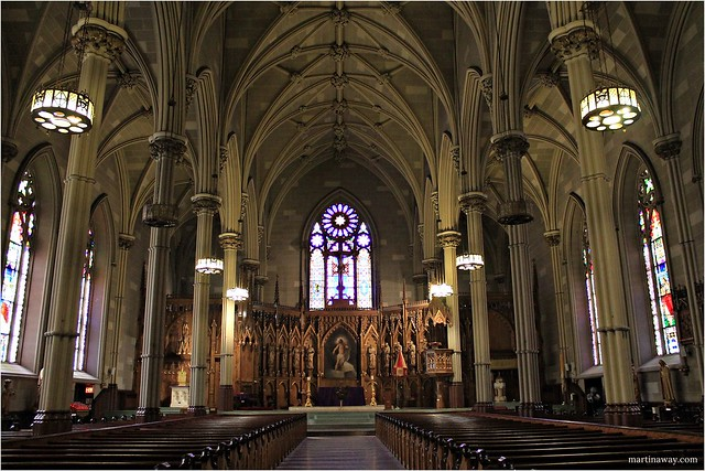 Saint Patrick's Old Cathedral.