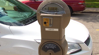 Toledo coin-operated parking meter