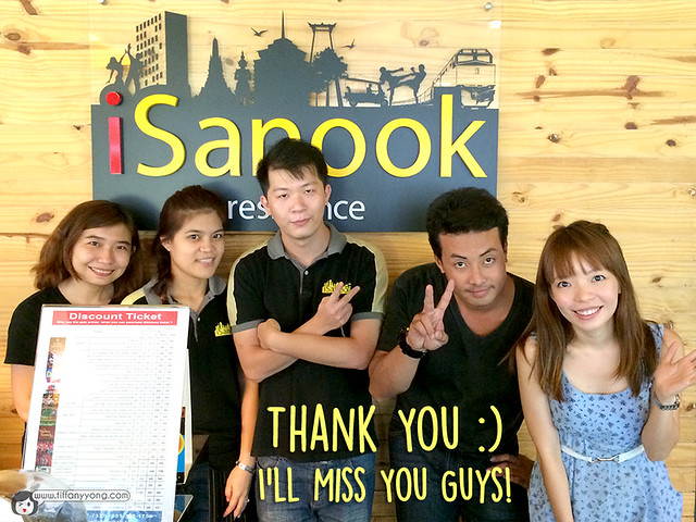 iSanook Residence Staff