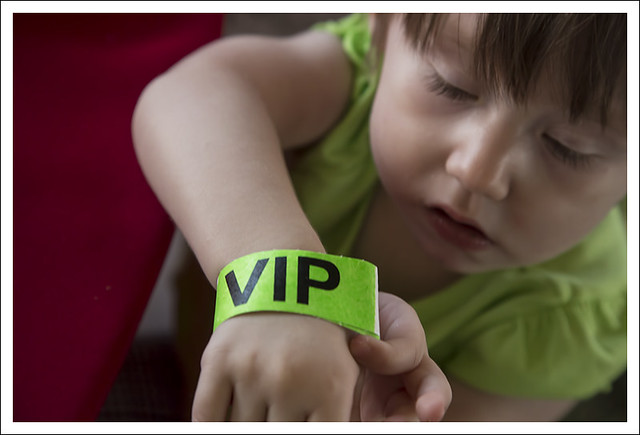 Madeleine At The VIP Tent, Forest Park Balloon Race 2015-09-19