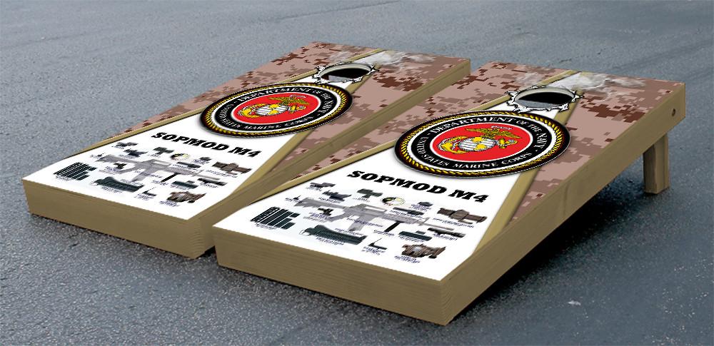 US Marines USMC SOPMOD M4 Desert