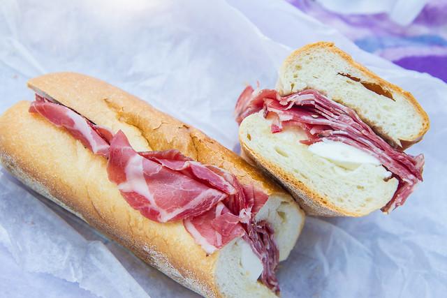 Arthur Ave sandwich, Tasty Deli