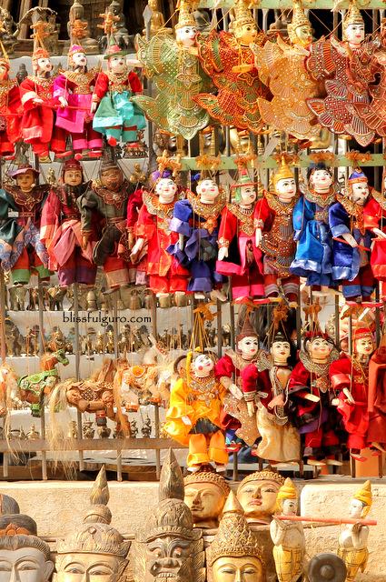 Souvenir Mandalay Myanmar