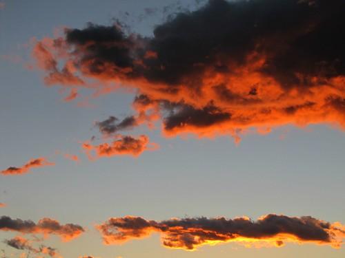 sky clouds sunrise colorado montrosecolorado