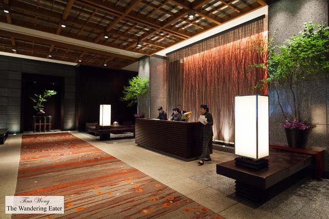 Lobby of Mandarin Oriental Tokyo