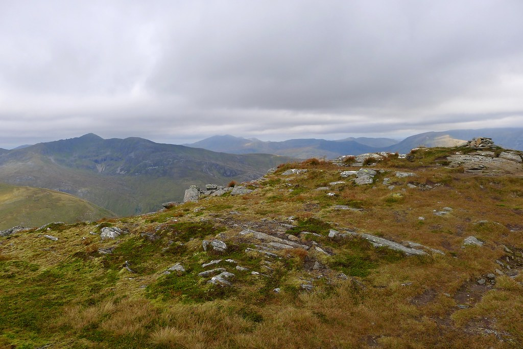 Mullach Fraoch-choire and the Affric Hills