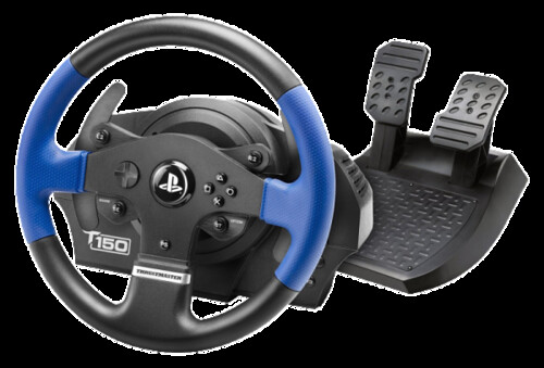 Photo:Thrustmaster VG T150 Force Feedback Racing Wheel for PlayStation 4 By:adimarcris