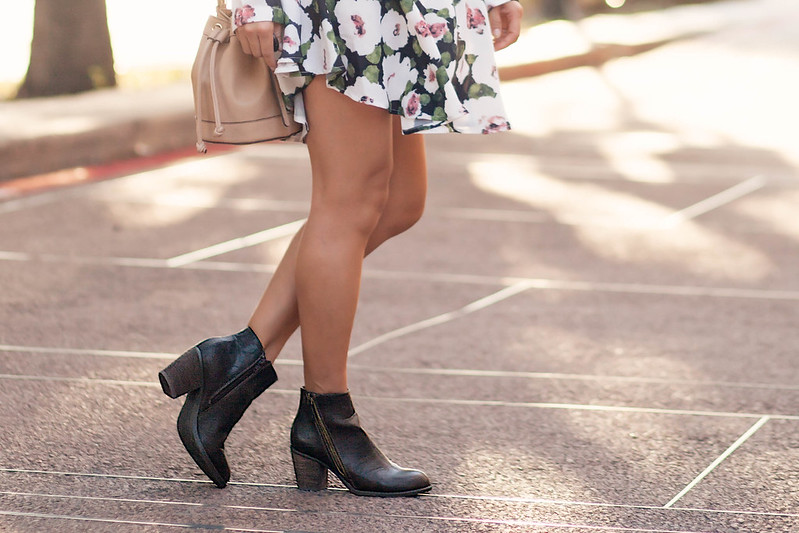 cute & little blog   dsw fall shoes   diba pilot brown ankle booties