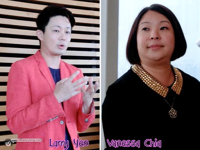 Larry Yeo Vanessa Chia Elle