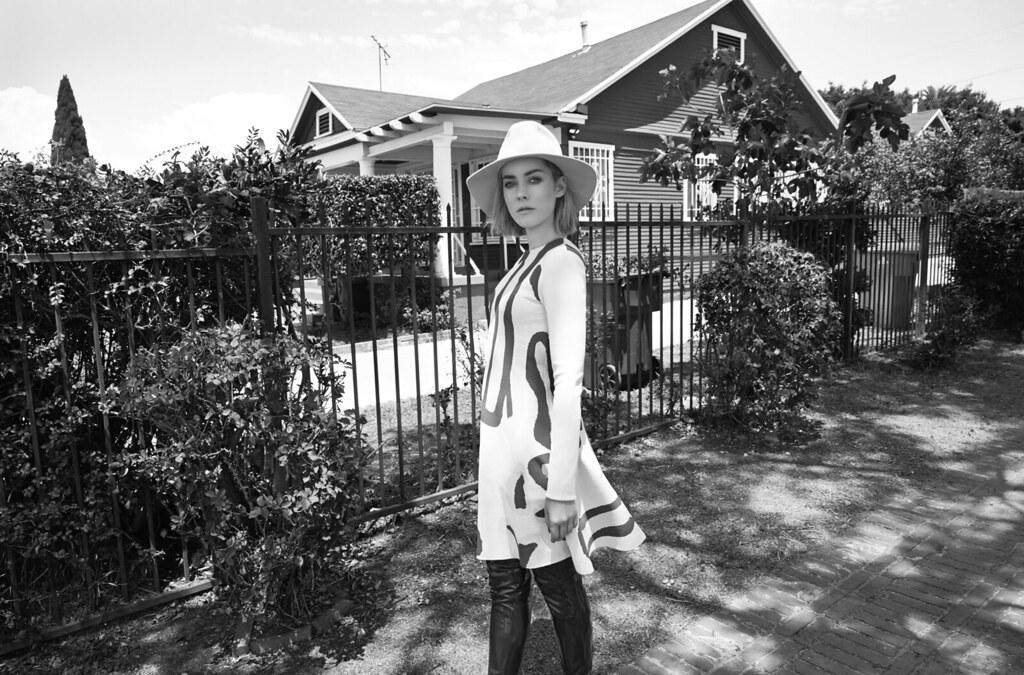 Джена Мэлоун — Фотосессия для «Glass» 2015 – 6