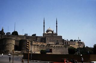 Ägypten 1983 (16) Kairo: Zitadelle von Saladin