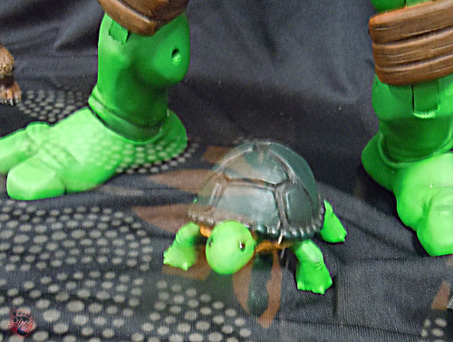 MondoCon 2015 :: Toy Display; TMNT 1/6 figures - Pre-mutant MICHELANGELO