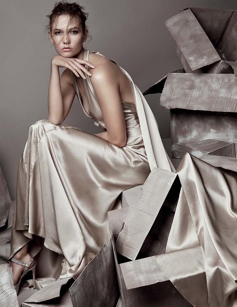 Карли Клосс — Фотосессия для «Vogue» UK 2015 – 6