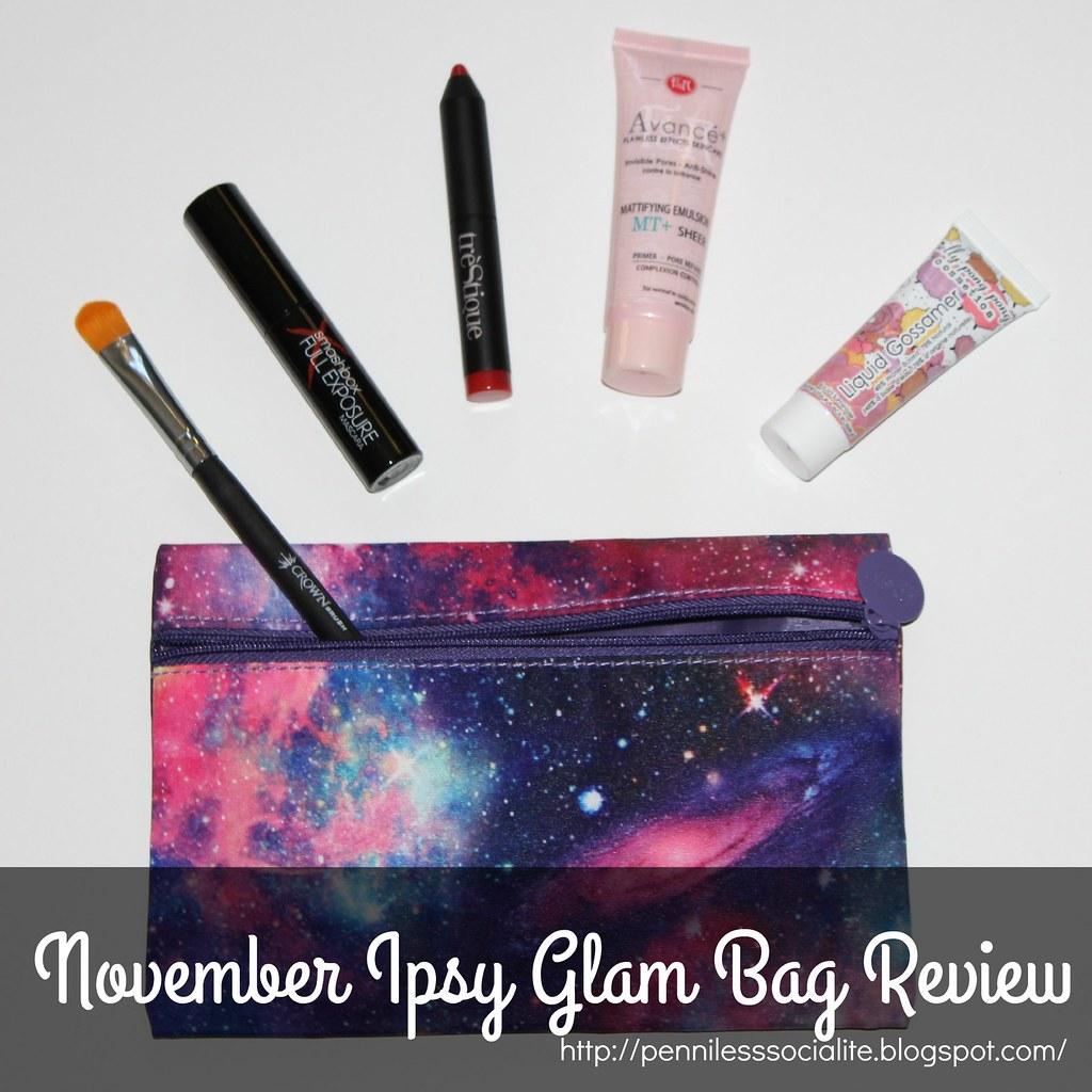 November 15 Glam Bag