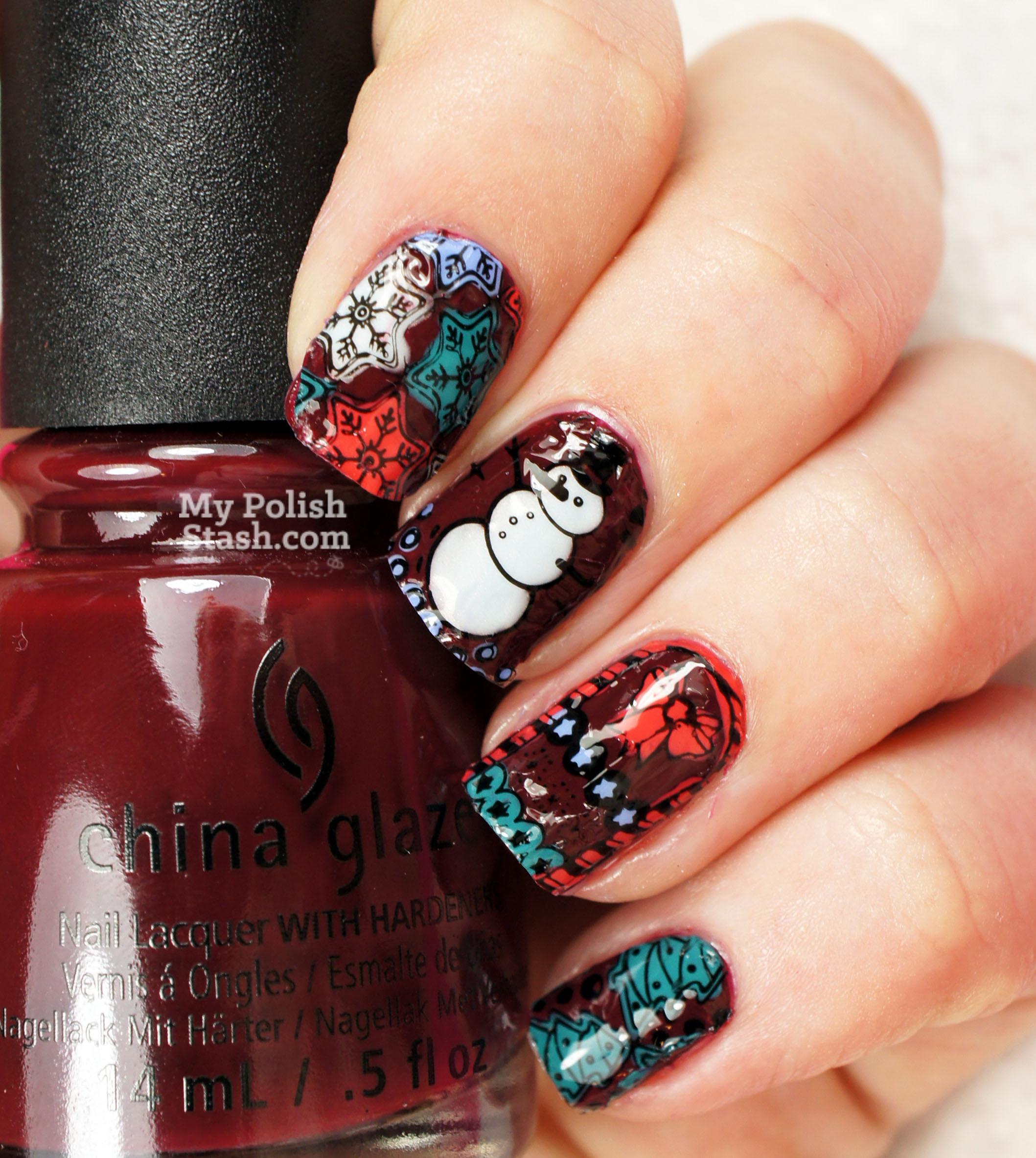nail-art-decal-christmas-2