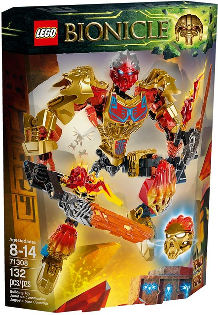 LEGO Bionicle 2016 | 71308 - Tahu - Uniter of Fire