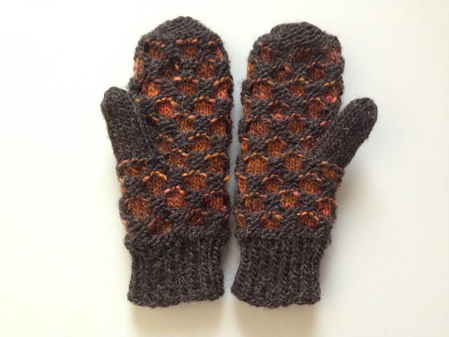 Newfie mittens