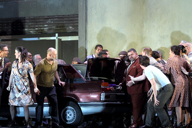 Production photo of Cavalleria rusticana © 2015 ROH. Photograph by Catherine Ashmore