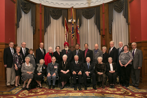 2015 Ontario Senior Achievement Awards Recipients