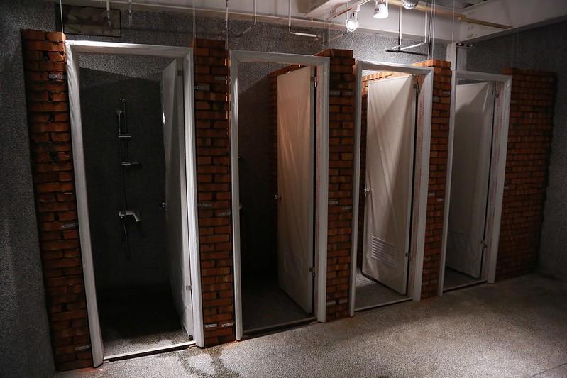 還在施工中的浴室