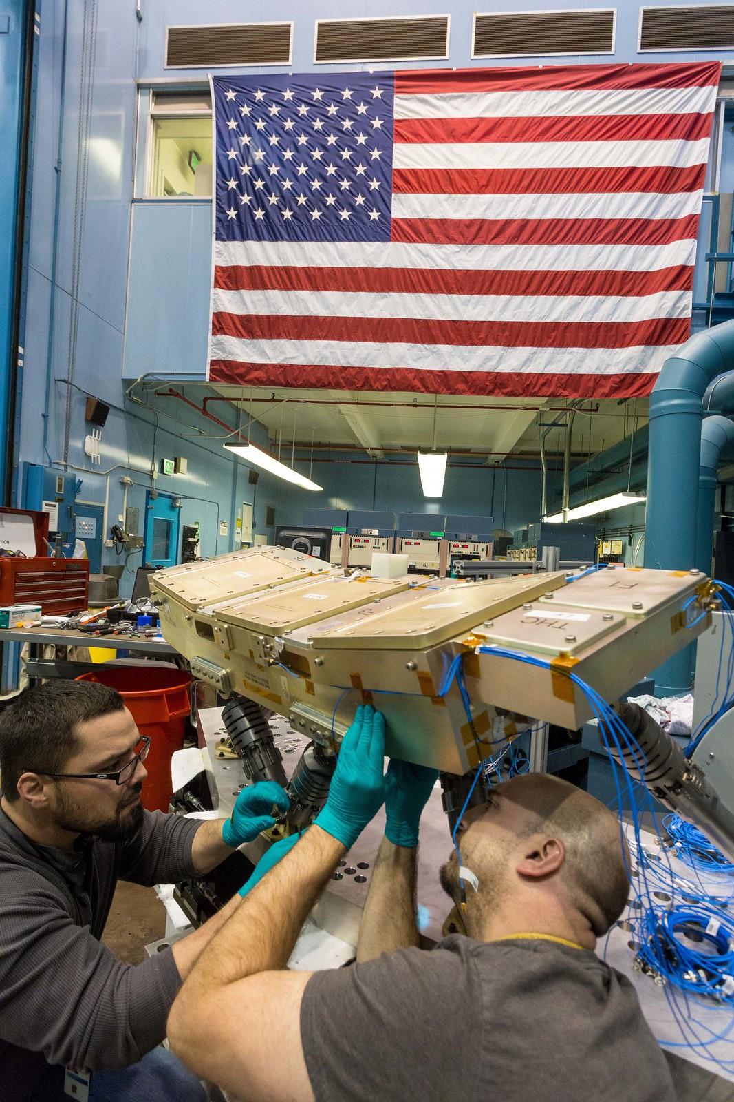 Orion Crew Console Vibration Test (2)