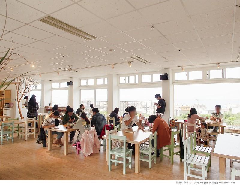 【台北 Taipei】白日夢Tea & Cafe 北海岸石門眺望療癒海景 國小教室改建咖啡館 @薇樂莉 Love Viaggio | 旅行.生活.攝影