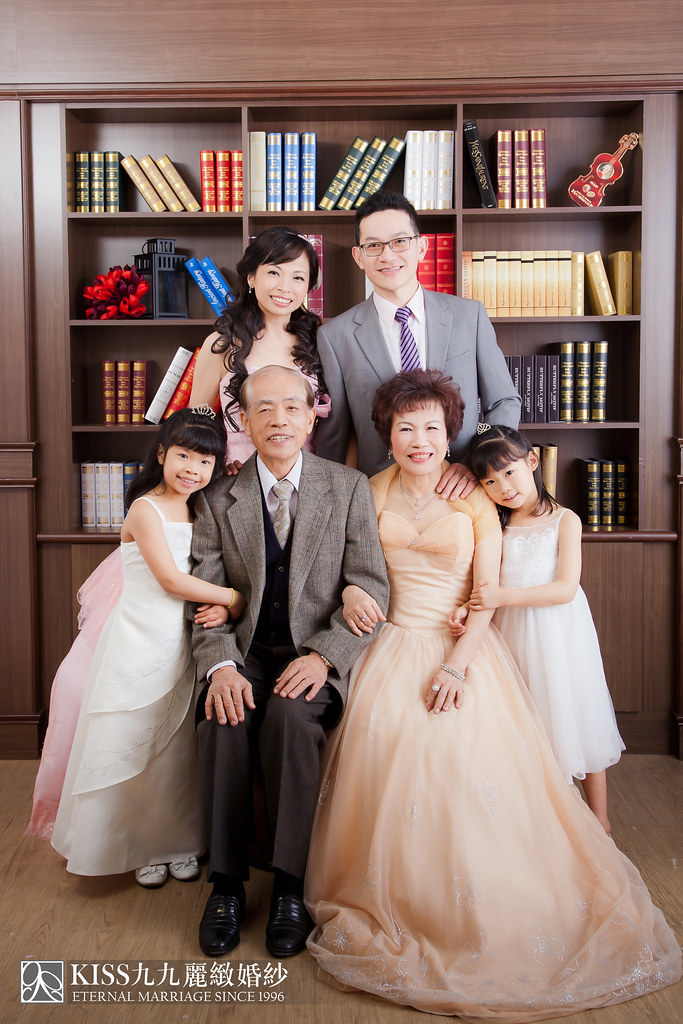 高雄週年照推薦Kiss九九麗緻婚紗 讓爸媽有個浪漫金婚週年 (6)
