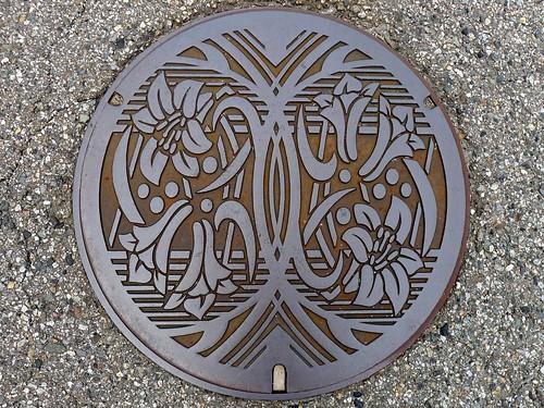 Nakajima Ishikawa, manhole cover 2 (石川県中島町のマンホール2)