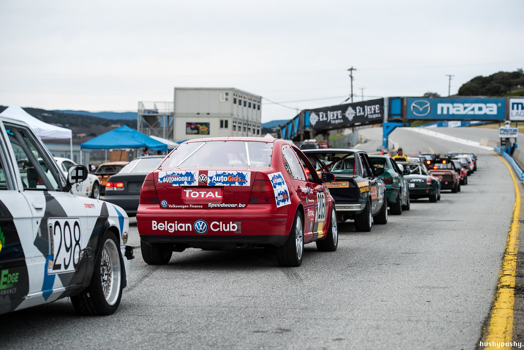 Belgian VW Club @ ChumpCar Laguna Seca 2015 (Saturday)