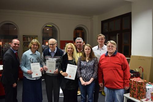 Weihnachtsfeier SPD Harburg-Süd 2015