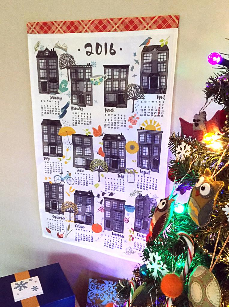 2016 Tea Towel Calendars