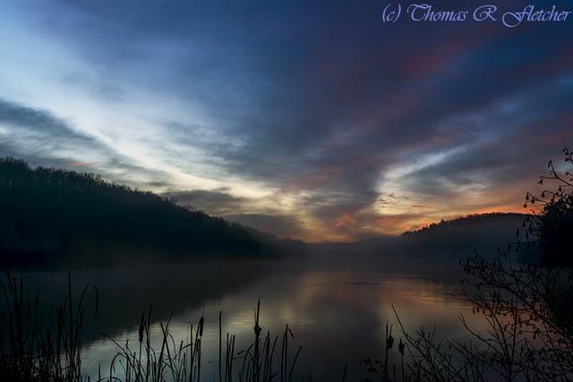 First Light Big Ditch Lake