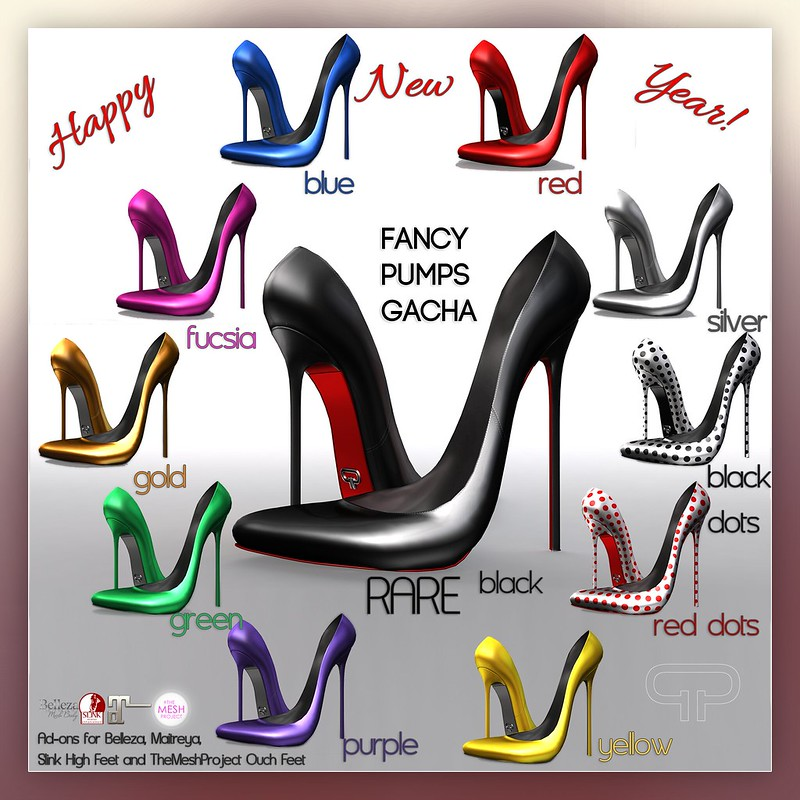 Pure Poison - Fancy Pumps GACHA