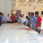 Subsea Engineering Field Trip - Genesis Model Room in Technip Tour