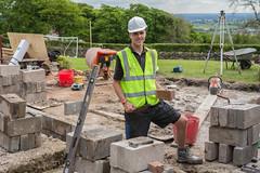 Apprentice Zach Stringer Brickwork Apprentice