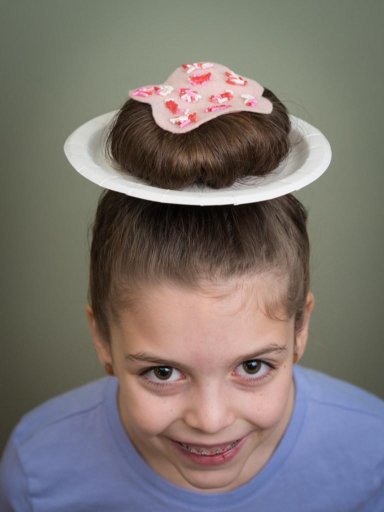 Donut hair