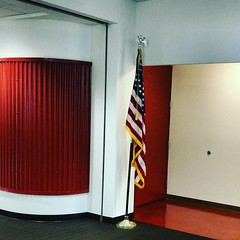 Something exciting is happening behind the door in E131at LWTech. Hashtag hints: #veteran #november #success #center #respect #pride #services #grandopening #savethedate #nov10 #thelwtech