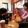 今天去神戶喝星巴客玩牌休息XD   #japan #神戶