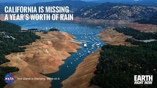 """The drought in California has added up to a 20"""" precipitation  debt"""
