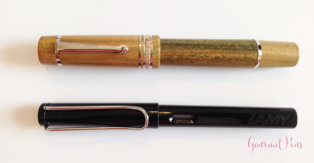 Review Delta Vespucci Encore Argento Wood LE Fountain Pen @ChatterleyLux (3)