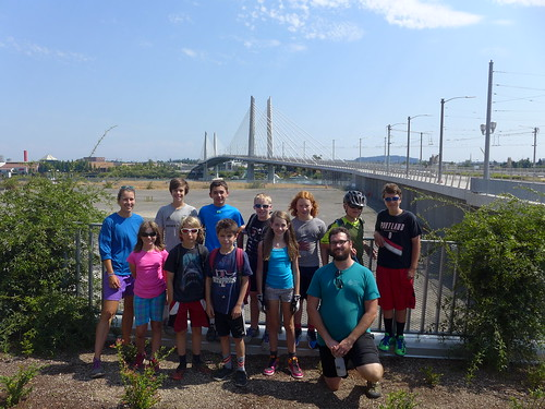 Bike Camp at Tilikum Crossing